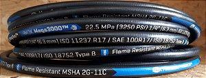 Mangueira Hidraulica M3K Gates - SAE 100R17 - 4M3K-1/4 20Mts