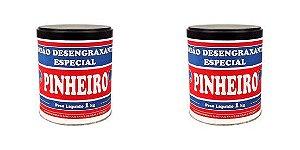 Pasta Desengraxante Pinheiro 1kg Jogo Com 2 Peças