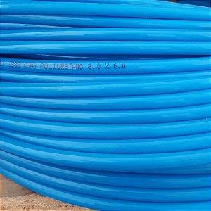 Tubo Pu-08 (08X6) Azul Rolo 100 Metos