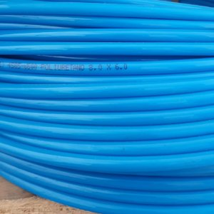 Tubo Pu-08 8 X 6 mm Azul Rolo 50 Metos