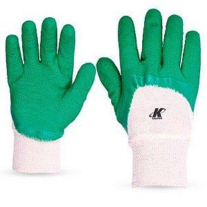 12 Pares Luva Nitrilon Verde Confortex Kalipso Ca 11127