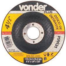 Disco Desbaste 115,0 x 5,0 x 22,23 VDA-50 Vonder