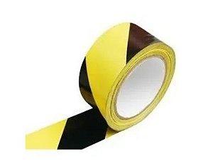 Fita Demarcação Solo 100 X 30 Amarela/Preta