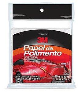 3M Auto Papel de Polimento C/10 Fls HB004009146