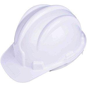 10 Capacete de Segurança Plastcor Branco Tipo II Classe B CA31469