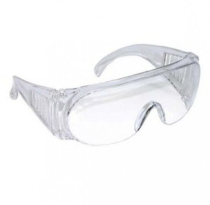Oculos Panda Incolor - C.A. 10344  Ref 01.07.1.3