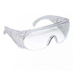 Kit 10 Oculos de Proteção Panda Incolor - C.A. 10344