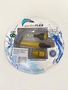 Mangueira Jardim Garden Flex Light 10 Metros Cristal C/ conexões e esguicho