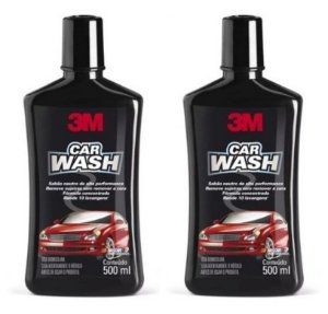 2 Shampoo Automotivo 3m Car Wash 500ml