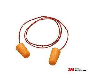 10 Protetor Auricular Plug Espuma 1110 3M C/ Cordão