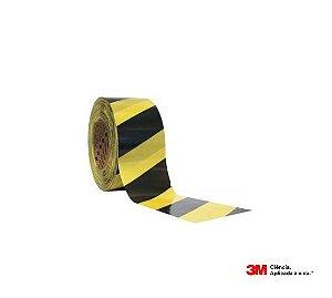 Fita Demarcação Área 3M 70mm X 200mt Amarela/Preta H0001918830