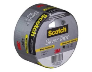 Fita Silver Tape 3M 45mm x 5mt