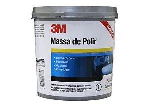 Massa de Polir 3M 1KG Polimento Profissional  HB004226633