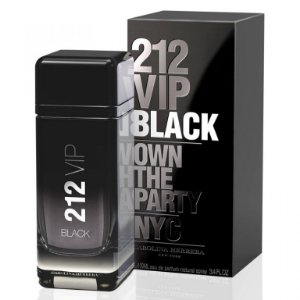 212 Vip Black Men EDP 100ml - CH