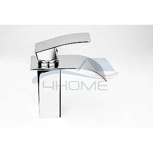 Torneira Monocomando Calha Metal Banheiro Lavabo Baixa (25)