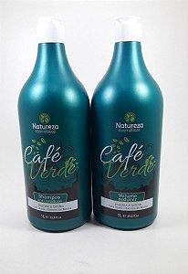 Escova Progressiva Café Verde