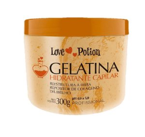 Gelatina Hidratante Reconstrutora Love Potion 300 g