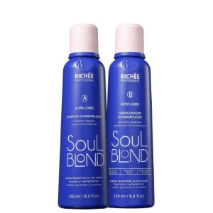 Kit Desamarelador Soul Blond Richee Professional