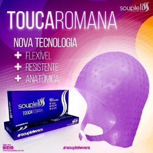 Touca Romana COM FECHO Soupleliss