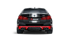 Akrapovic Evolution Line BMW M5 F90 + Carbon Tail Pipe Set