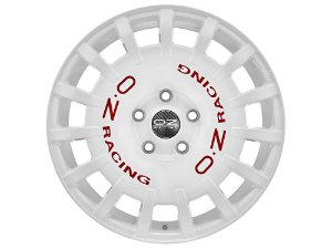 OZ Rally Racing White 5X112 18X8 ET45