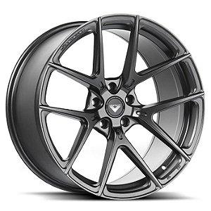 Vorsteiner V-FF 101 Carbon Graphite 5X130 20X9 ET45 - 20X11,5 ET62 Para Porsche 997 991 992 Narrow Body Carrera, Carrera S, Carrera GTS, Targa