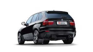 Akrapovic BMW X5 M (E70)
