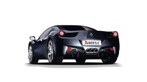 Akrapovic Ferrari 458 Italia - 458 Spider