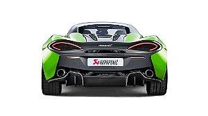 Akrapovic McLaren 570S - 570 S Spider - 570GT