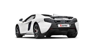 Akrapovic McLaren 650S - 650S Spider