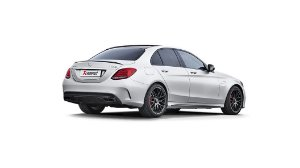 Akrapovic Mercedes-AMG C63 Sedan (W205)