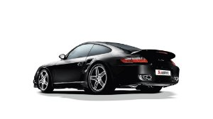 Akrapovic Porshe 911 TURBO (997)