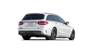 Akrapovic Mercedes-AMG C63 Estate (C205)