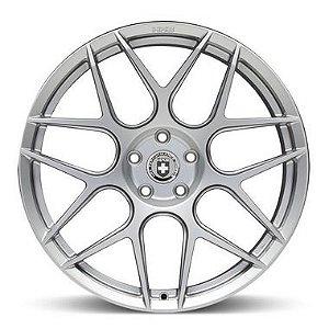 HRE FF01 Liquid Silver 5X130 19x8,5 ET50 - 19x11 ET35 - Porsche 997 Turbo, GT3