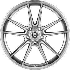 HRE FF04 Liquid Silver 5X112 21x9,5 ET30 - 21x10,5 ET35 - BMW M5 F90