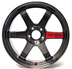 Volk Racing TE37SL Pressed Graphite 5x114,3 18x9,5 ET22 - 18x10,5 ET15