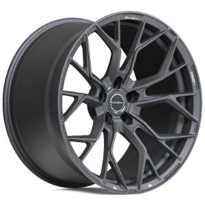 Brixton Forged RF10 Satin Anthracite 5x130 20x9 ET20 - 20x12 ET20 para Porshe 991 Turbo