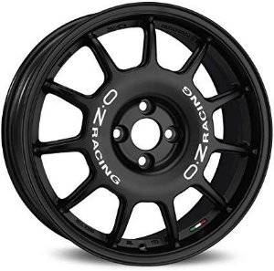 OZ Leggenda Matt Black 4x100 17x7 ET37