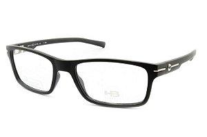 Armação de Óculos Masculina HB Polytech M93131 Preto Fosco