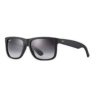 Óculos de Sol Ray-Ban Justin Degradê RB4165L Preto