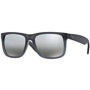 60e58862f Óculos de Sol Espelhado - Ray-Ban Justin 4165L 852 Cinza