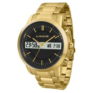 Relógio Lince Dourado MAG4489S P1KX Anadige