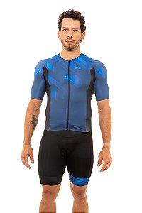 Macaquinho Triathlon Masculino Aero 2020 Azul