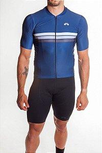 Camisa Ciclismo Masculina Sport Azul Marinho