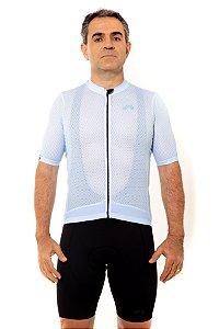 Camisa Ciclismo Masculina 2020 Premium Azul Bebê