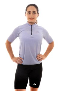 CAMISA CICLISMO UNISSEX 2020 FIRST JEANS CLARO