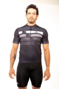 Camisa Ciclismo Unissex 2020 First Cinza