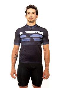 Camisa Ciclismo Unissex 2020 First Azul Petróleo