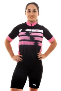 Camisa Ciclismo Unissex 2020 First Rosa