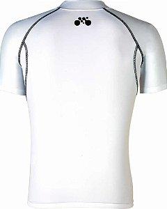 Camisa Segunda Pele Manga Curta Branco